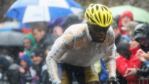 Adrien Niyonshuti will compete for Rwanda in the Olympic mountain bike event