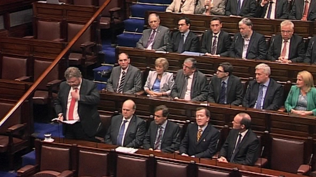 James Reilly made a personal statement in the Dáil last night