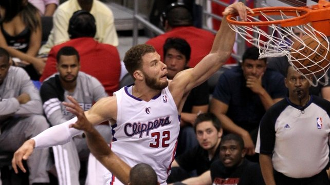 Blake Griffin will not be at London 2012