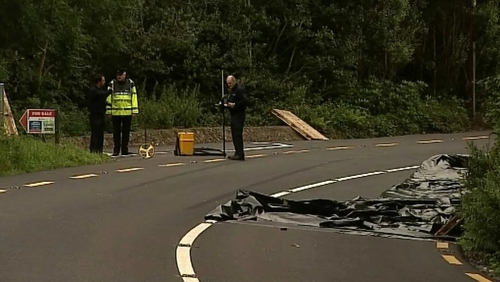 A 69-year-old woman died in a two-car collision in Cork