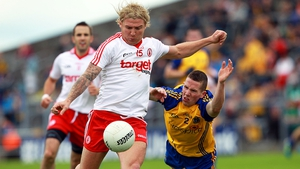 Owen Mulligan (l) rolled back the years for the Red Hands