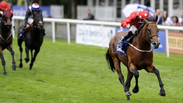 Mayson made the breakthrough at Group 1 level in the July Cup