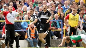 Sligo manager Kevin Walsh watched as his side lost their second Connacht final in three years