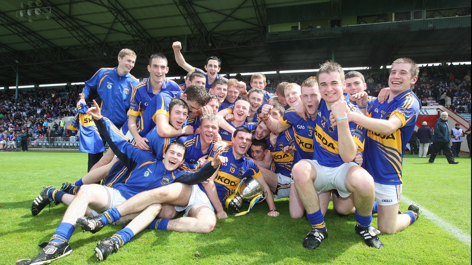 Tipperary's minor hurlers enjoy their Munster final victory at Páirc Uí Chaoimh
