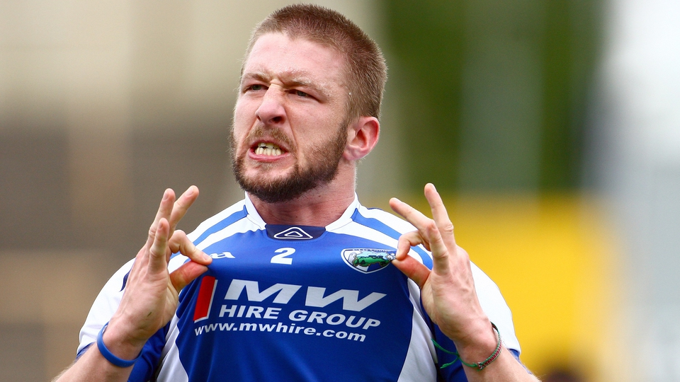 Cahir Healy of Laois was feeling rather good about himself after final whistle at O'Moore Park