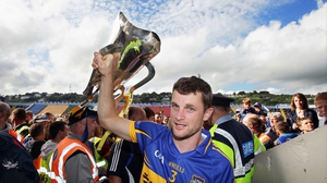 Tipperary captain Paul Curran with the Munster trophy