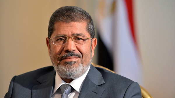 Three weeks ago Mr Mursi assumed sweeping new powers to push through the constitution