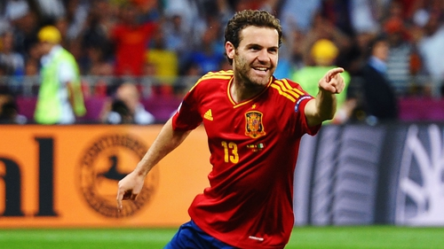 Juan Mata should be wearing the red of Manchester United within the week