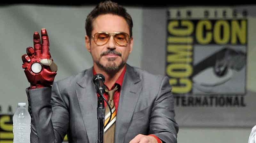 Robert Downey Jr  has been meeting with music label executives