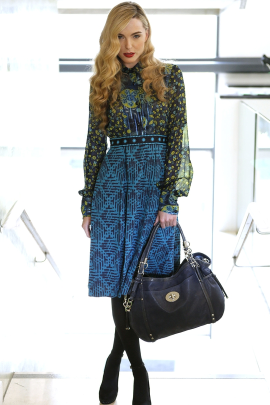 Anna Sui blue dress €550