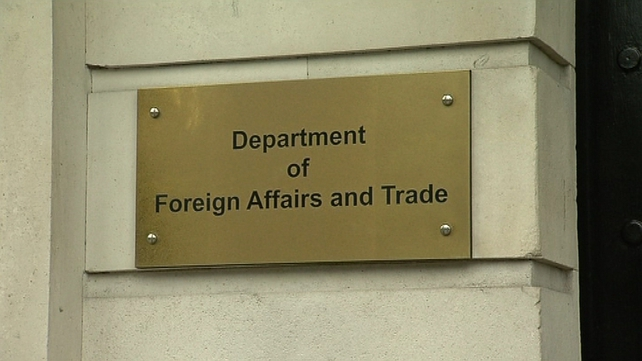 The Department of Foreign Affairs is providing consular assistance to the man's family