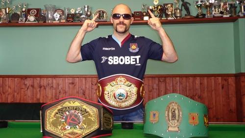 Gary 'Spike' O'Sullivan is the new WBO International Middleweight champion