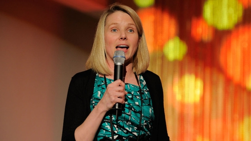 Marissa Mayer has been working to turn the company around since taking over as CEO two years ago