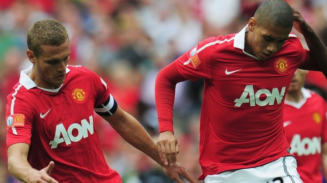 Nemanja Vidic and Chris Smalling are on the road to recovery