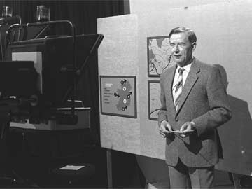 Weather forecaster Paddy McHugh