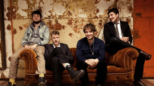 Mumford & Sons teamed up with Idris Elba