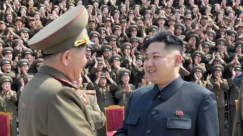 North Korea's leader Kim Jong-un has remained committed to his father's 'Military First' ideology