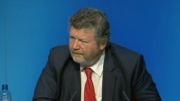 James Reilly said he did not understand Roisin Shortall's criticism