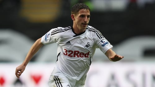 Wales international Joe Allen is part of  Team GB's 2012 Olympic football squad