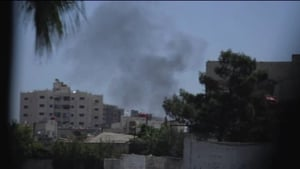 Rebels have taken positions in Damascus in recent days as part of a new offensive