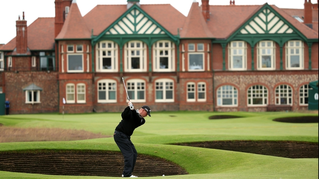 The 141st Open Championship is being held at Royal Lytham & St Annes