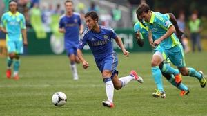 Eden Hazard joined Chelsea from Lille