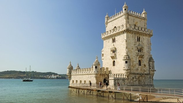 Belem Tower in Lisbon looks fairly appealling given the current awful weather