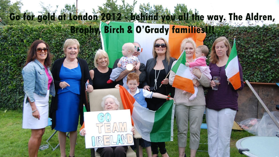 Make us proud Team Ireland!