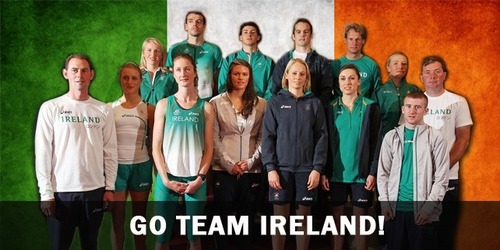 Just some of the athletes who will be representing Ireland at London 2012