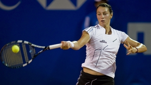 Mariana Duque-Marino is a late call up to London 2012 following the withdrawal of Estonia's Kaia Kanepi