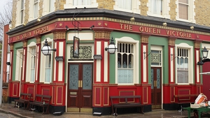 Many a romance has begun outside the Queen Vic...