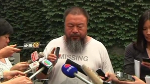 Ai Weiwei was barred from showing up in court to hear the case