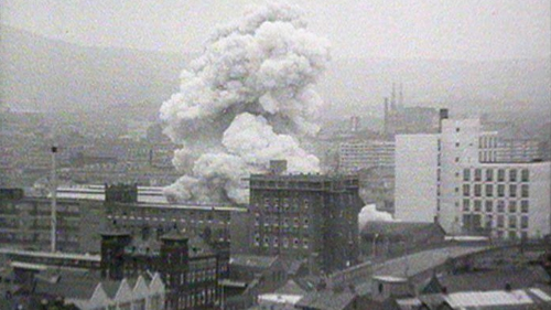 Nine people were killed and over 100 injured on 21 July 1972 (Pic: RTÉ Stills Library)