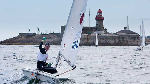 Finn Lynch achieved Ireland's greatest ever finish at the ISAF Youth Sailing World Championships when he grabbed a silver medal in Dún Laoghaire