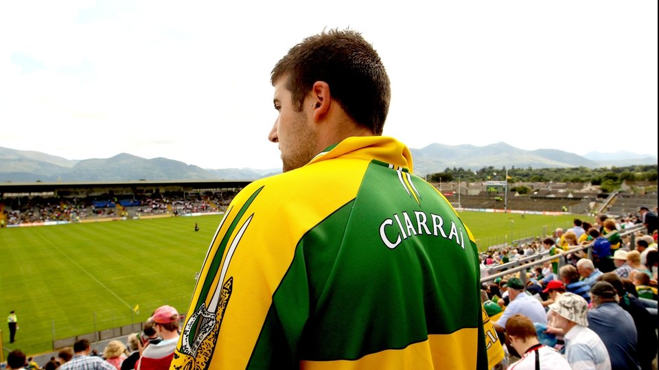 This Kerry fan was awaiting the much-anticipated clash between his county and Tyrone