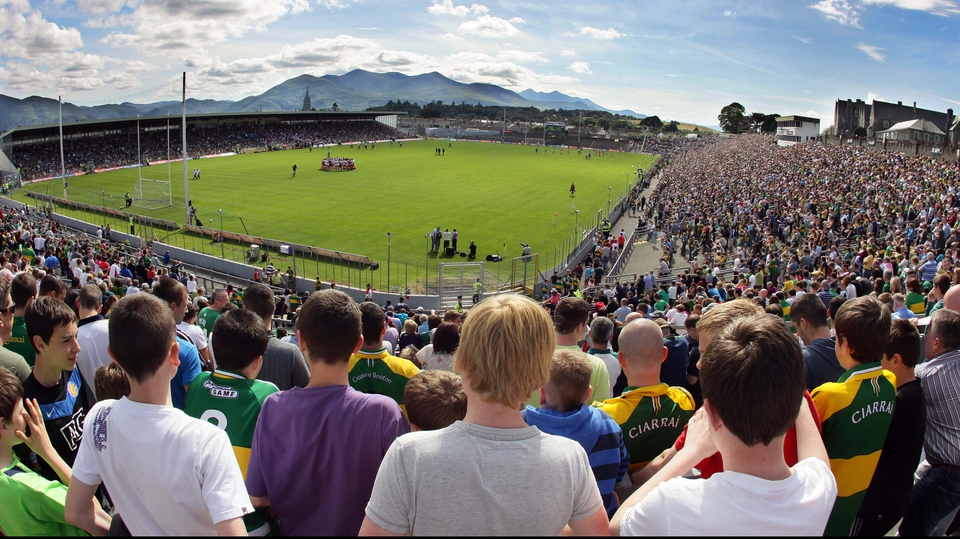 And over 24,000 fans packed into Fitzgerald Stadium in Killarney to witness it
