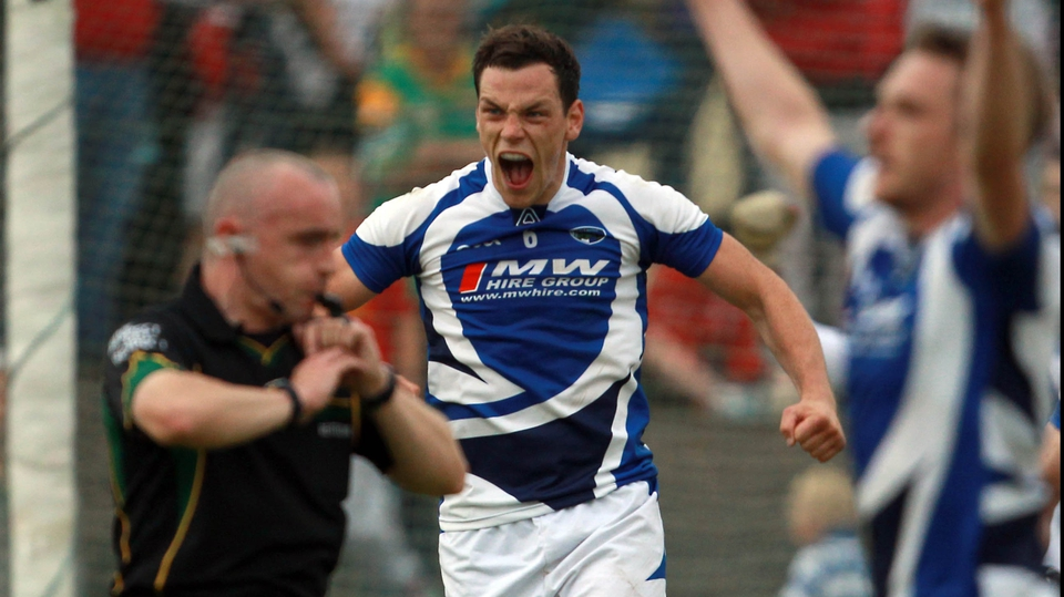 But Laois ground out a 1-13 to 1-11 victory and John O'Loughlin showed his delight at the final whistle
