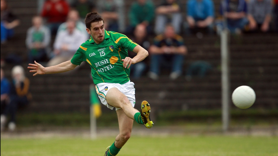 Kevin Conlon's goal put Leitrim in a position to cause another upset