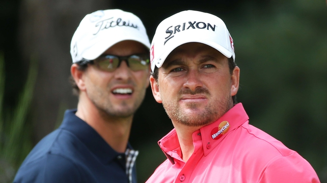 "Graeme McDowell: ""It was tough to say anything to him that was going to be of any relevance."""