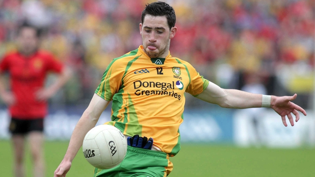 Mark McHugh starts for Donegal against Down