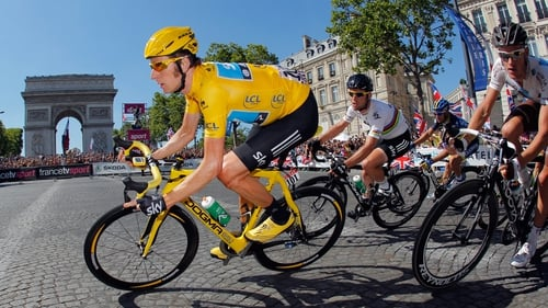 Bradley Wiggins claimed a stunning victory in the 2012 Tour de France