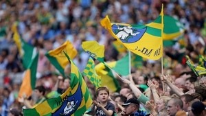 Meath supporters were in fine voice