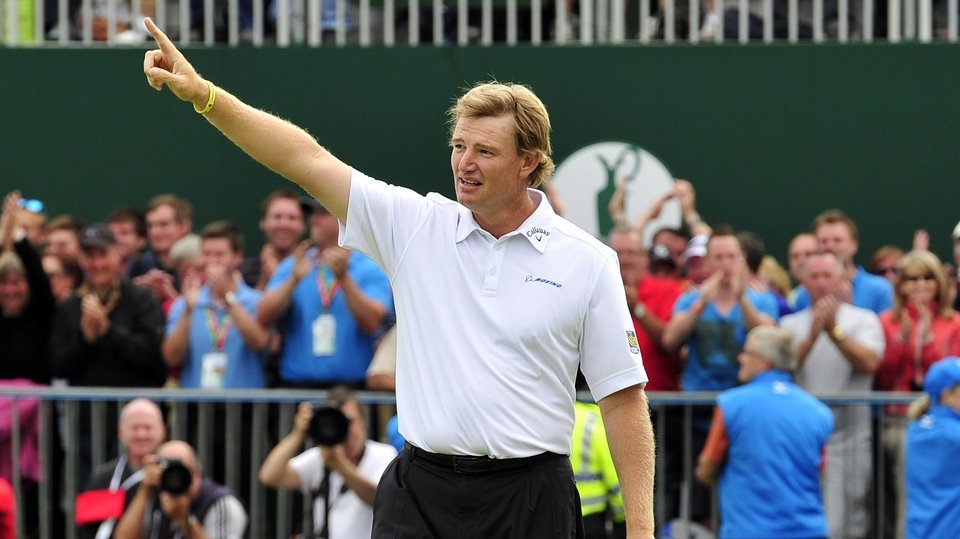 Ernie Els birdied the last but probably still thought he would come up one or two short of winning The Open