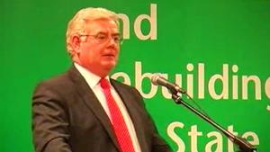Tánaiste Eamon Gilmore delivered the John Hume address