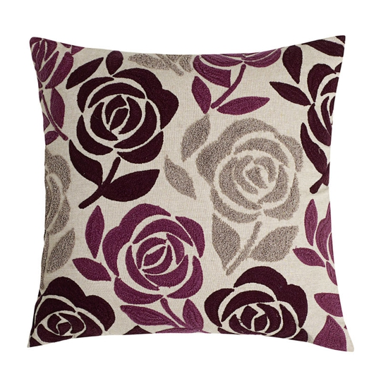 Debenhams Betty Jackson black rose cushion �