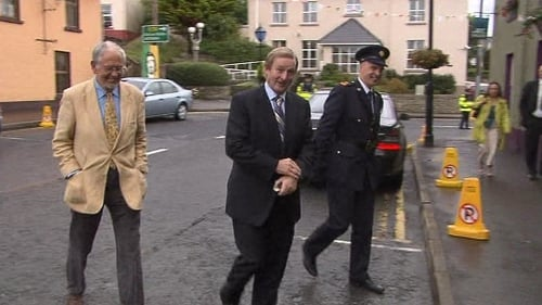Enda Kenny arrives at the MacGill Summer School this evening