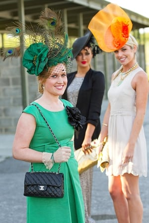 Best Dressed Winner Sarah Gene Loughnane, Roz Purcell, Pippa O'Connor