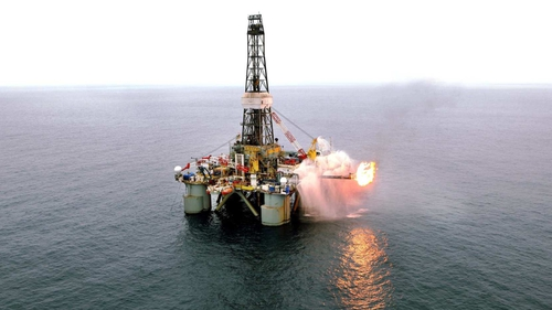 The Barryroe prospect lies in about 100 metre water depth in the North Celtic Sea Basin