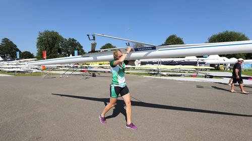 Sanita Puspure is Ireland's sole representative in rowing at London 2012