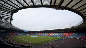 Hampden Park can hold almost 52,000 spectators at full capacity